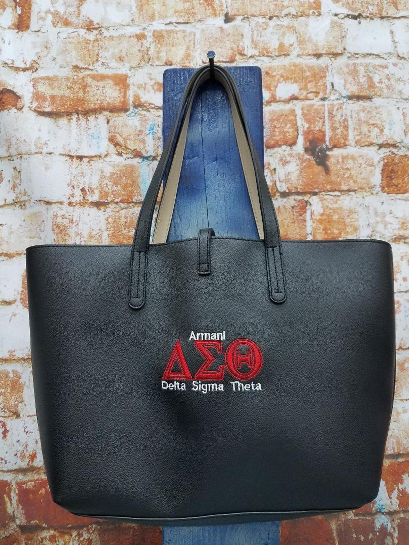 Delta Gifts Delta Sigma Theta Tote Delta Sigma Theta Delta Sigma Theta Sorority Delta Sigma Theta Sorority Bag