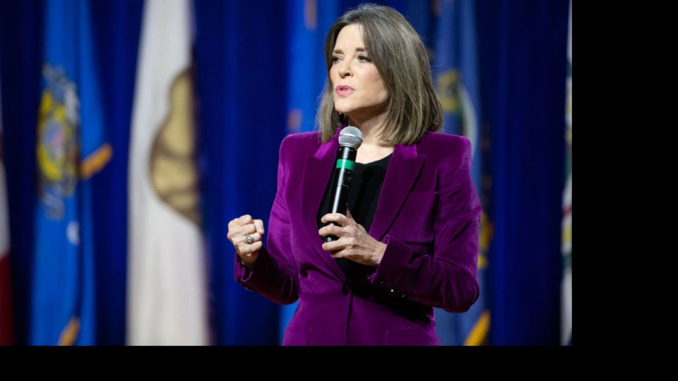 Marianne Williamson Fires Entire 2020 Campaign Staff, Vows To Stay In The Race