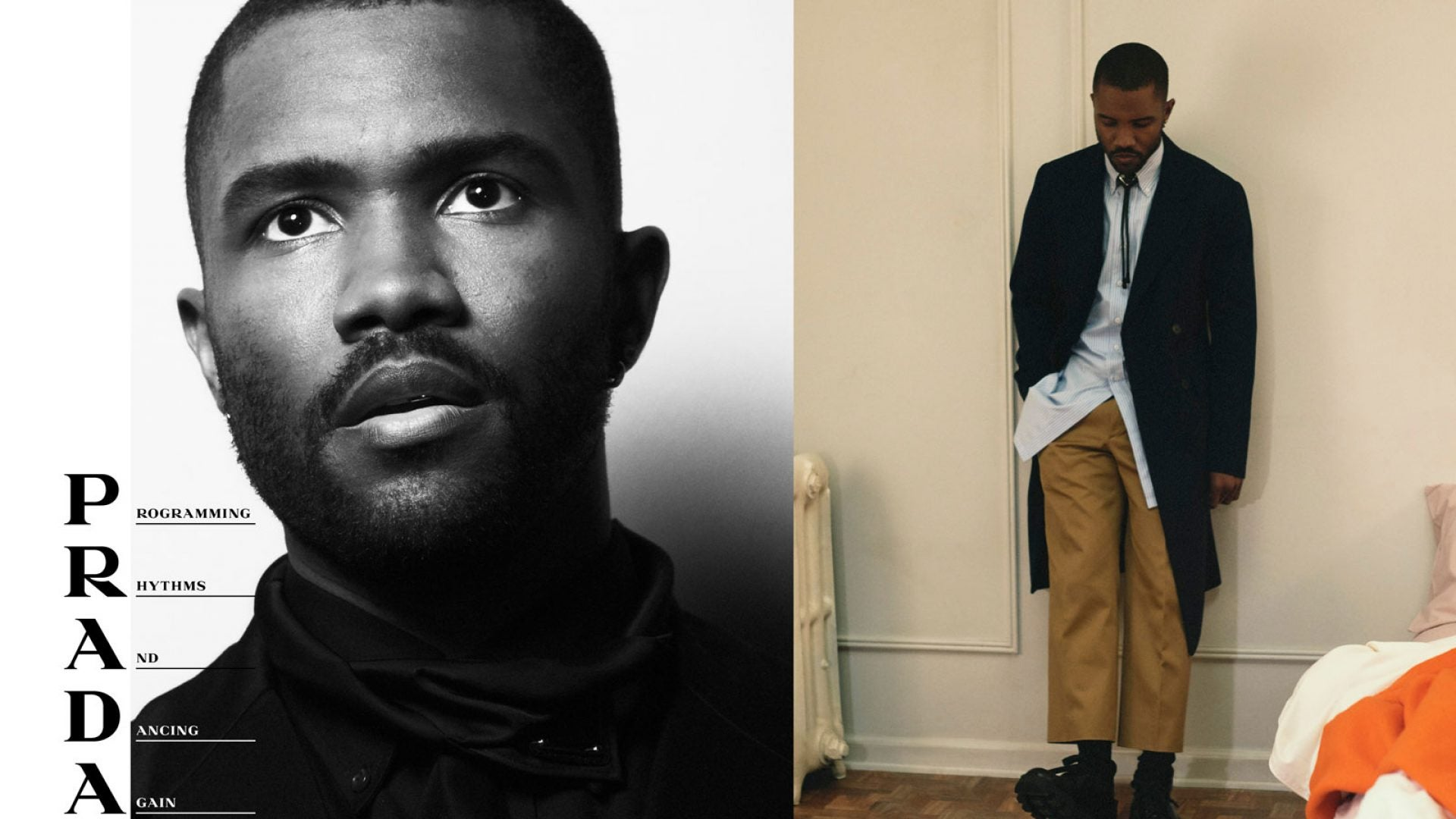Frank Ocean Is The New Face Of A Prada Campaign