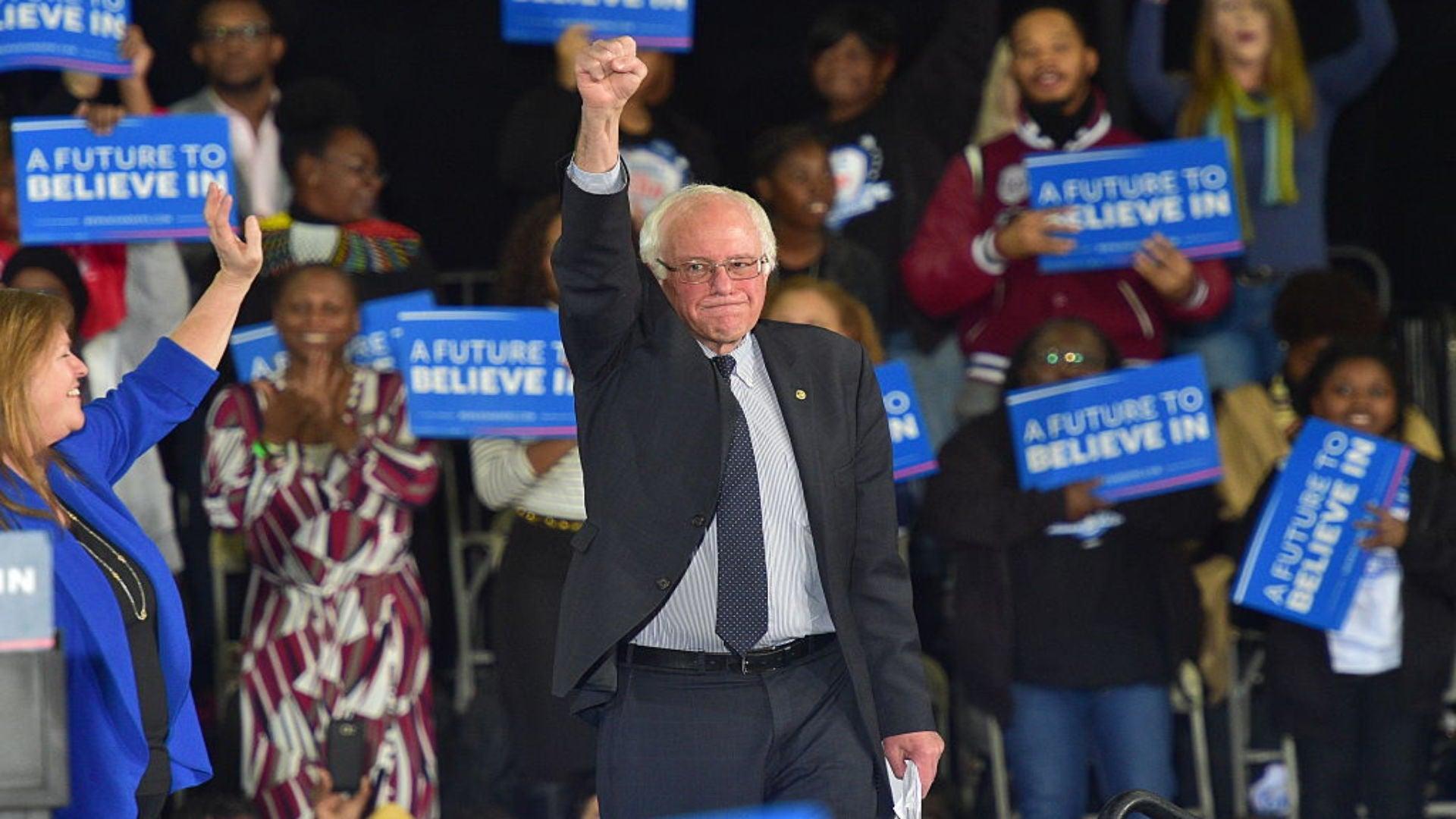 Sen. Bernie Sanders tours the south