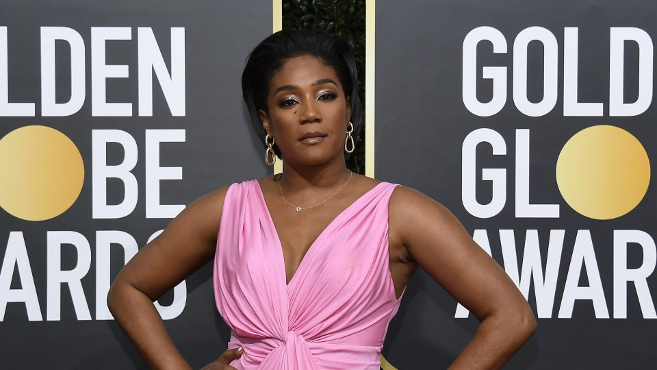 Tiffany Haddish Wore Over $100k In Jewelry At Golden Globes