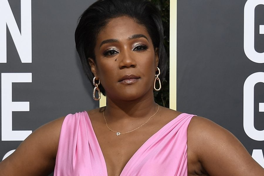 Tiffany Haddish Wore Over $100k In Jewelry At Golden Globes ...