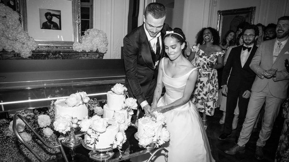 Zoë Kravitz and Karl Glusman Share New Photos From Their Paris Wedding