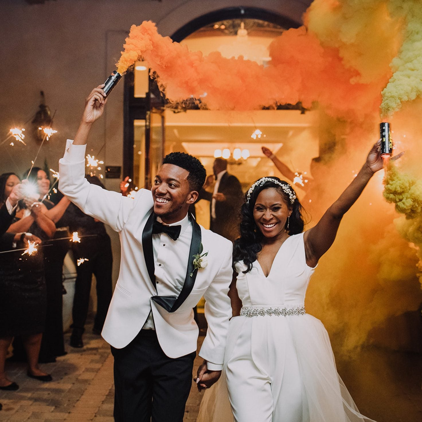 Bridal Bliss: Ashley And Brandon's North Carolina Wedding Had ALL The Southern Charm