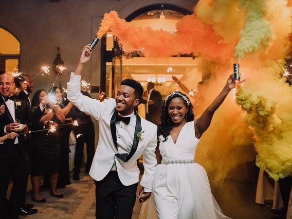 Bridal Bliss: Ashley And Brandon's North Carolina Wedding