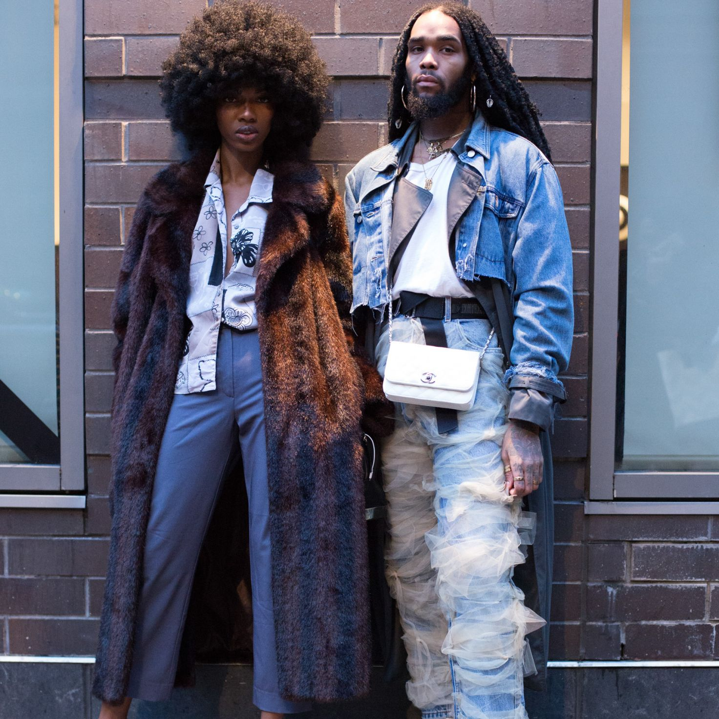 Street Style Squad Goals: These Dynamic Duos Came To Slay At ESSENCE Fashion House