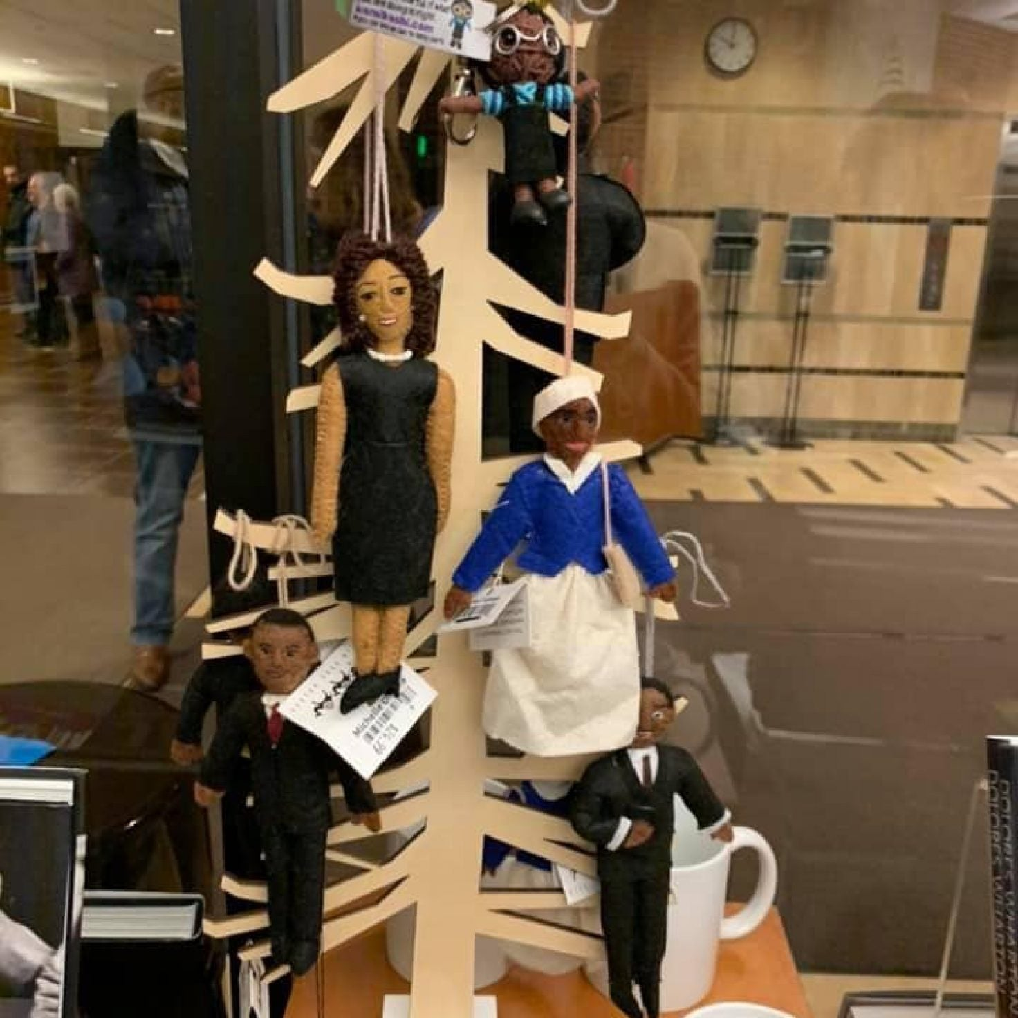 Michigan State University Apologizes For Hanging Historical Black Figures From Tree In Black History Month Display