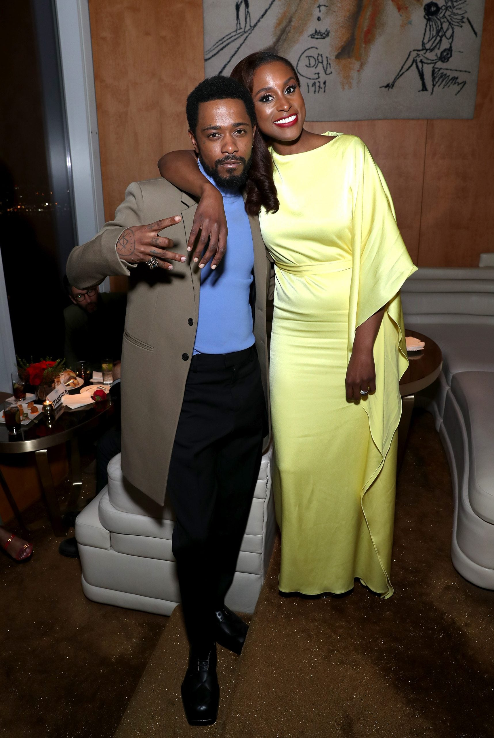 LaKeith Stanfield and Issa Rae