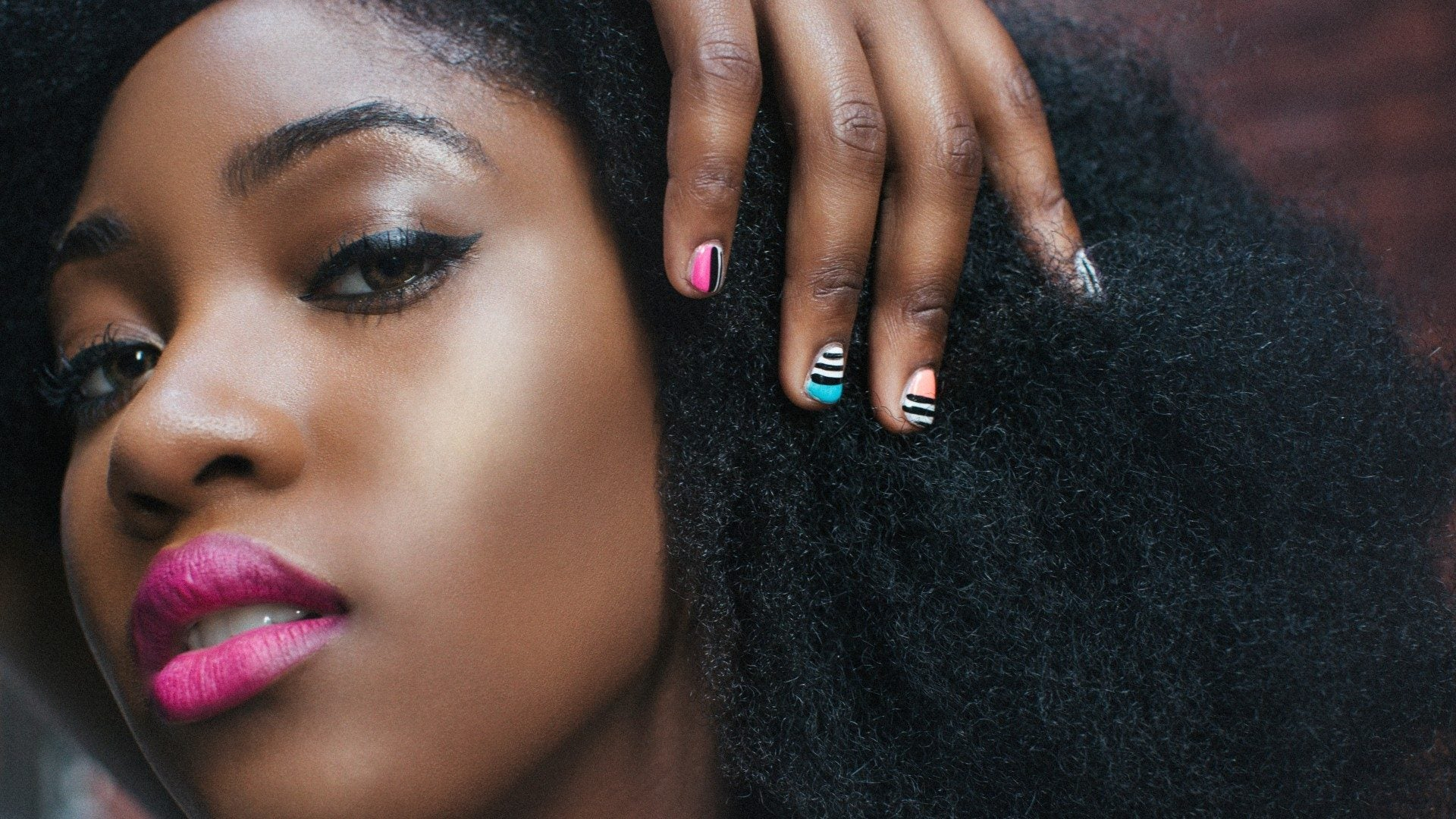 This African Print–Inspired Nail Art Captures The Spirit Of The Motherland