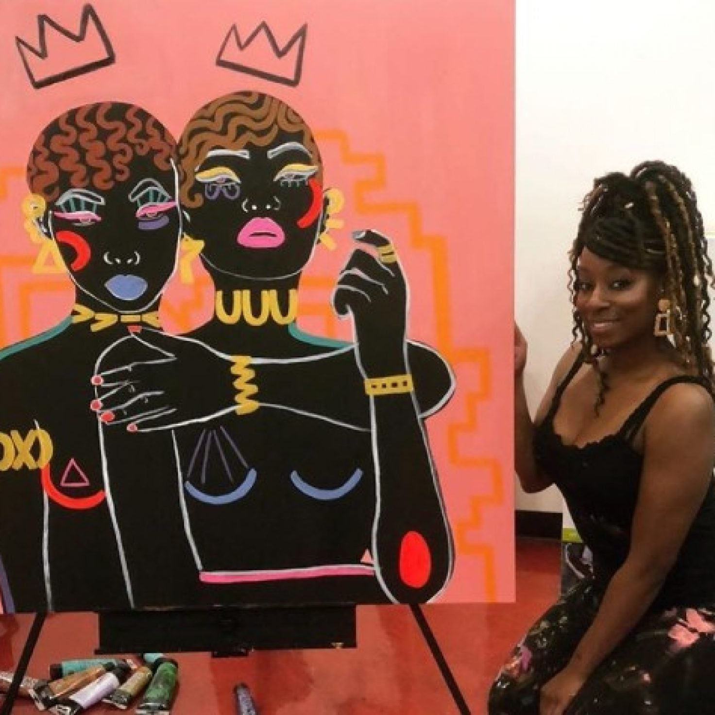 What I Double-Tapped This Weekend: Beauty-Inspired Art To Start Your Black History Month