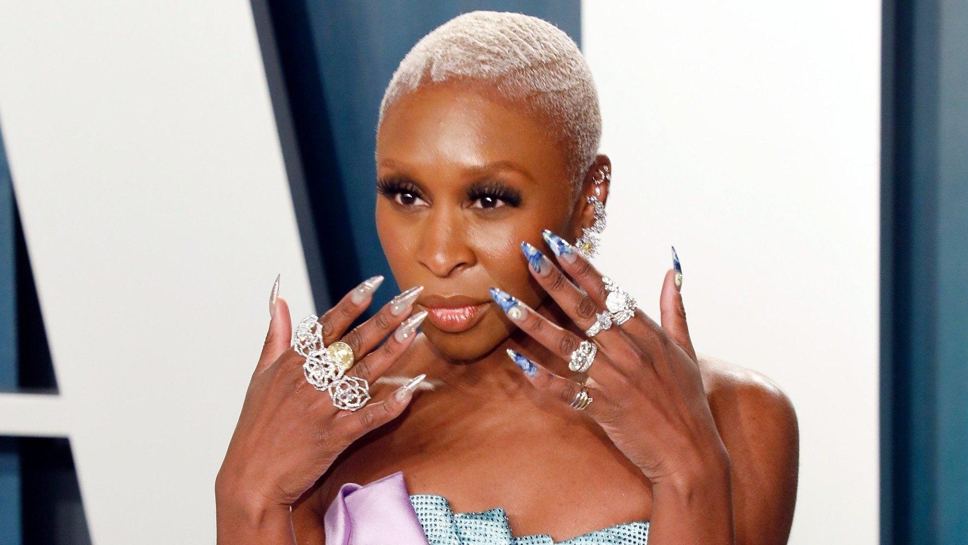 Cynthia Erivo Tributes Harriet Tubman With Louboutin Nails