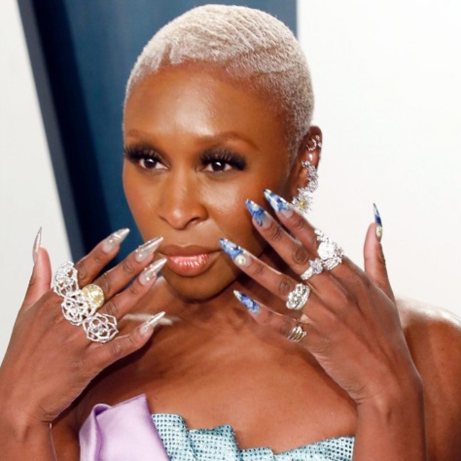 Cynthia Erivo's Louboutin Nails At The Oscars Were A Nod To Harriet Tubman