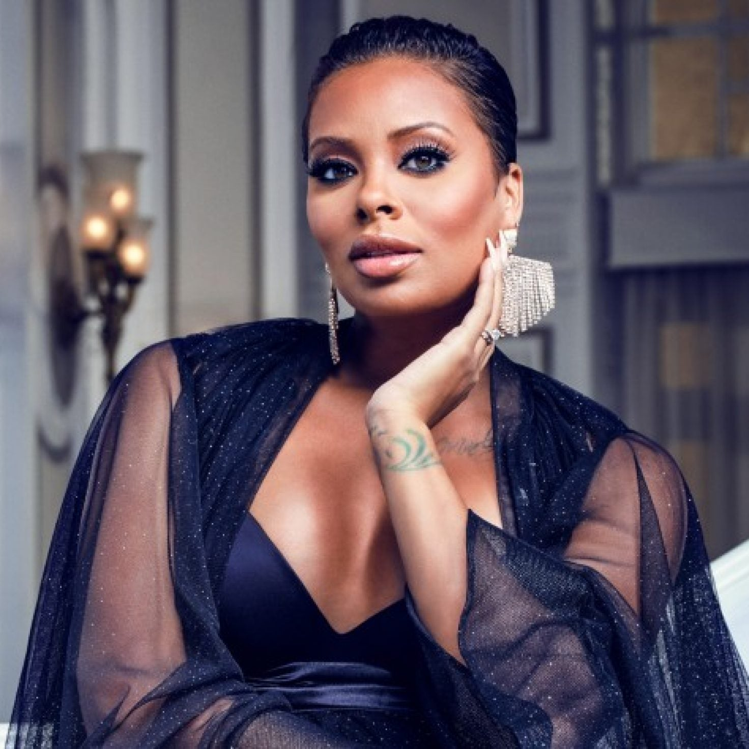 Eva Marcille Took Blond Hair To The Next Level At Black Women In Hollywood