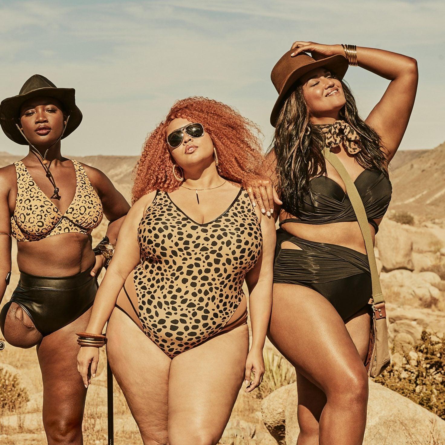 GabiFresh, Mama Cax and Veronica Pome'e Star in Swimsuits For All's Latest Campaign