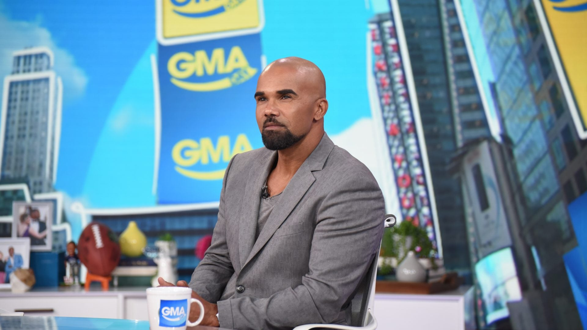 Shemar Moore Opens Up About Losing His Mother