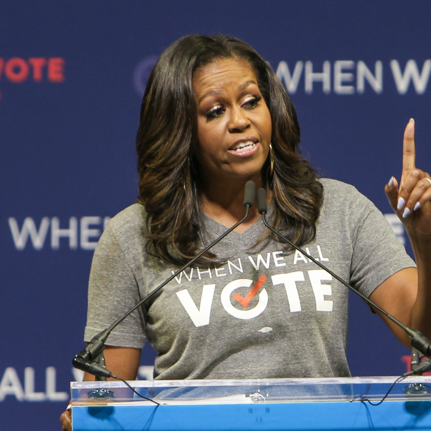 Michelle Obama Is Going To 'The D' To Help Get Out The Vote