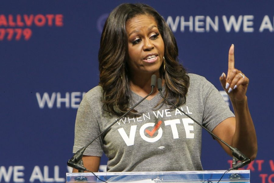 Michelle Obama Is Going To 'The D' To Help Get Out The Vote ...