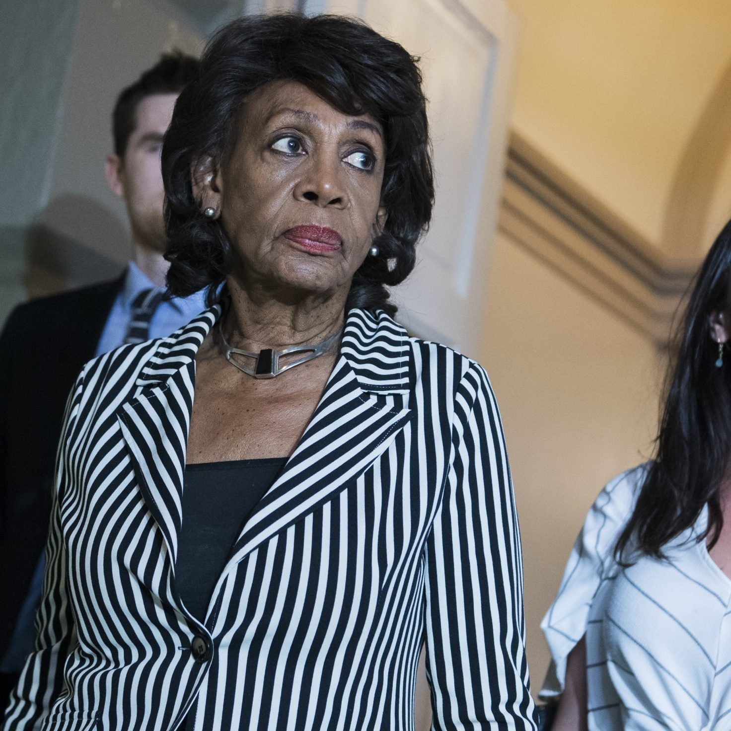 Rep. Maxine Waters Vows To Continue Work To Get Rid Of Trump, Should Impeachment Fail