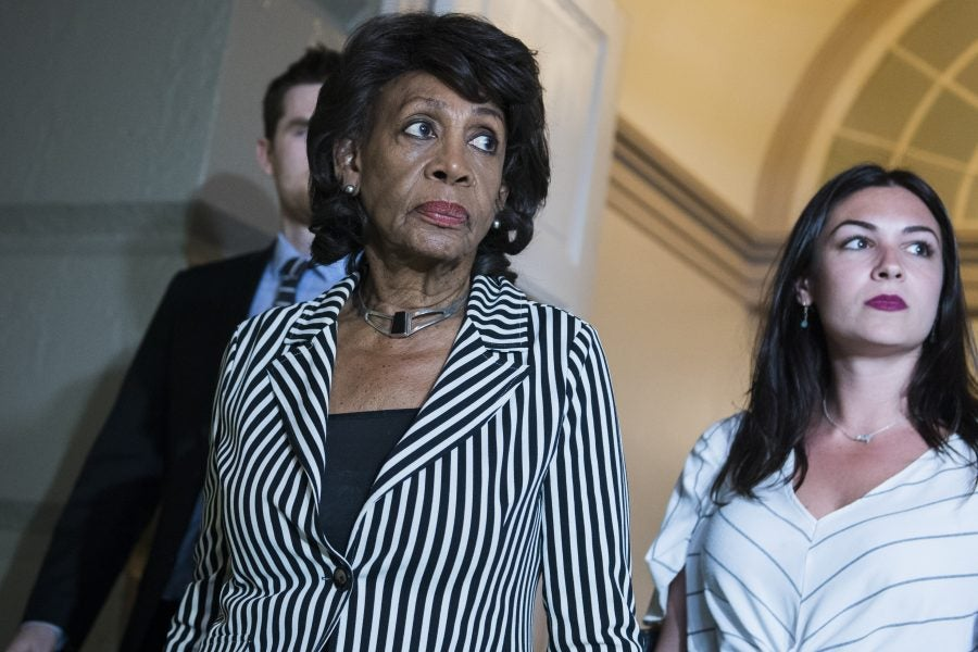 Rep. Maxine Waters Vows To Continue Work To Get Rid Of Trump ...