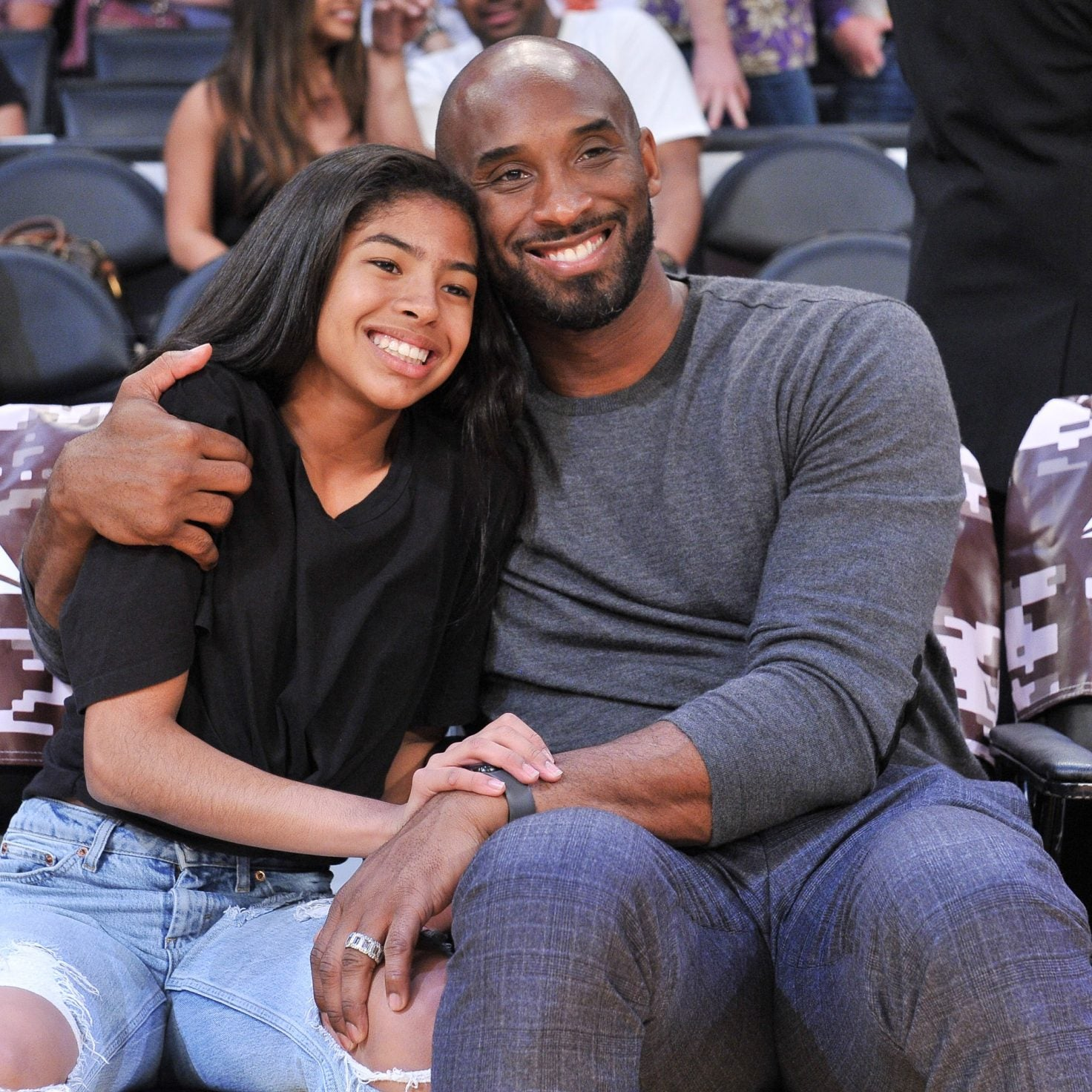 Kobe Bryant And 13-Year Daughter Gianna Memorialized In Private Funeral Ahead of Public Celebration