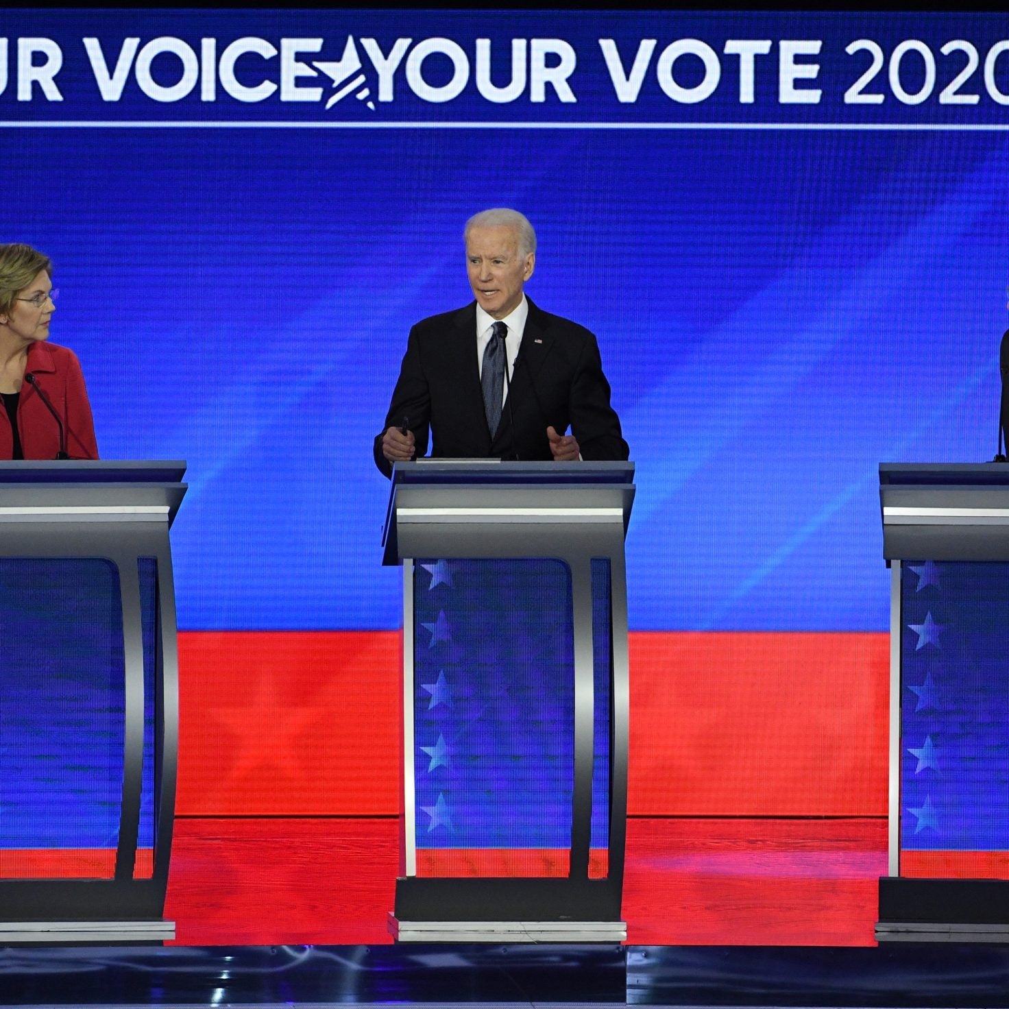 Highs And Lows From The New Hampshire Democratic Debate