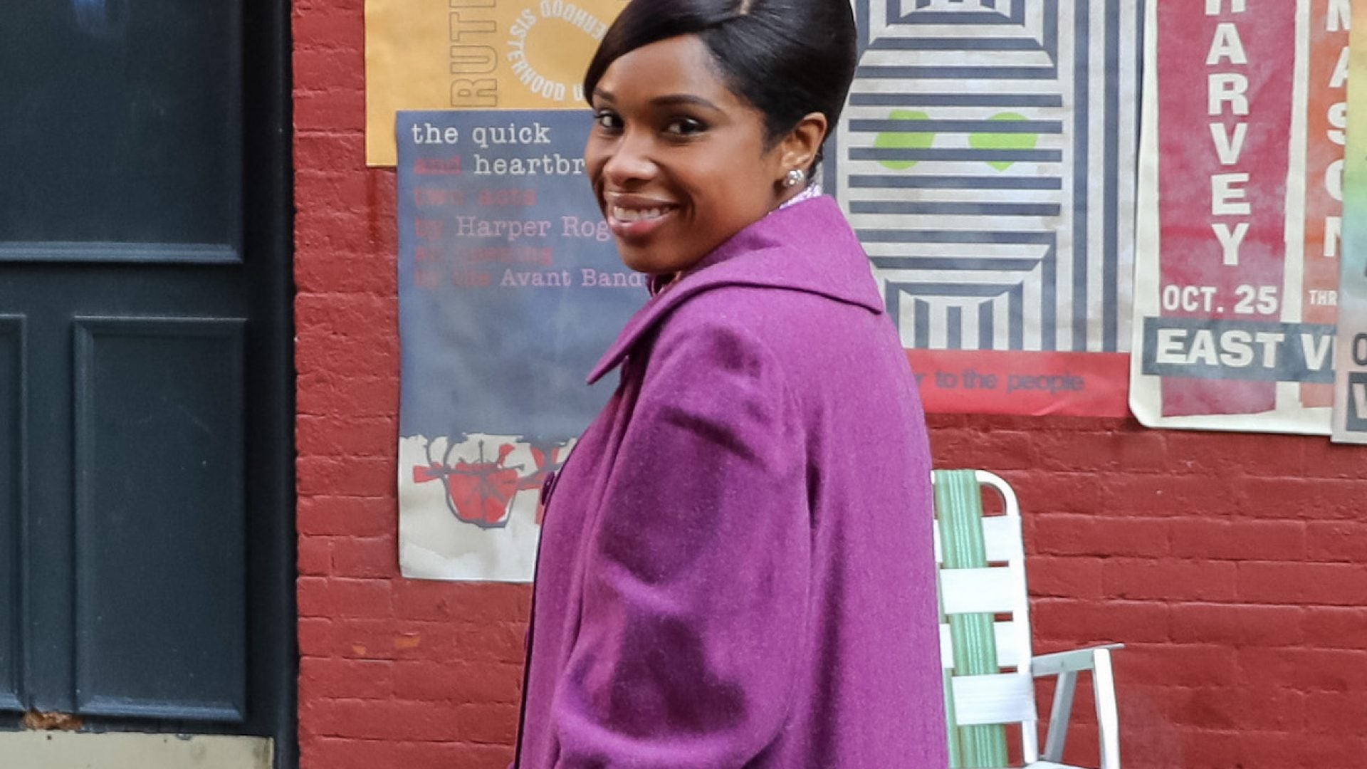 Jennifer Hudson Celebrates 'Respect' Wrapping Production