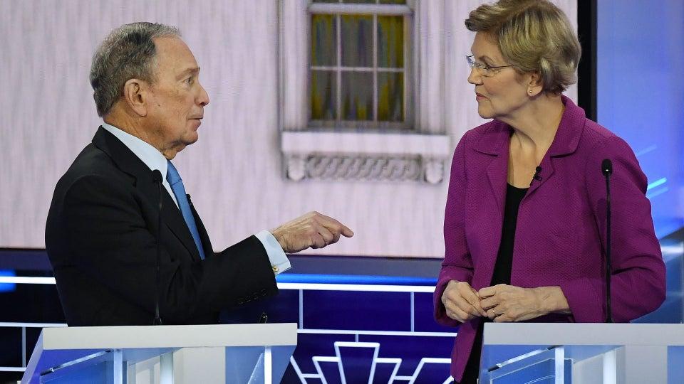 Black Twitter Has Spoken: Warren Ethered Bloomberg During Last Night's Debate
