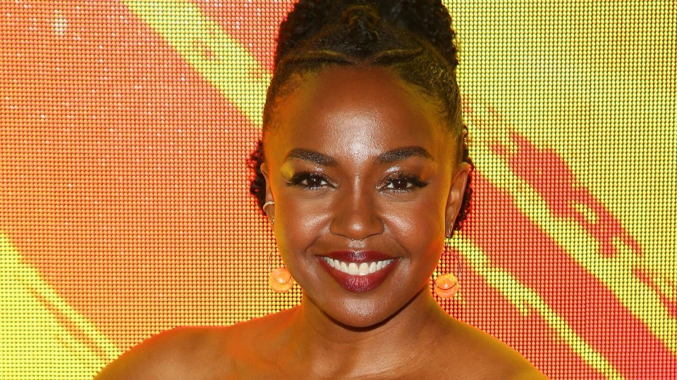 'Hunters' Star Jerrika Hinton Gave Herself Permission To Say No