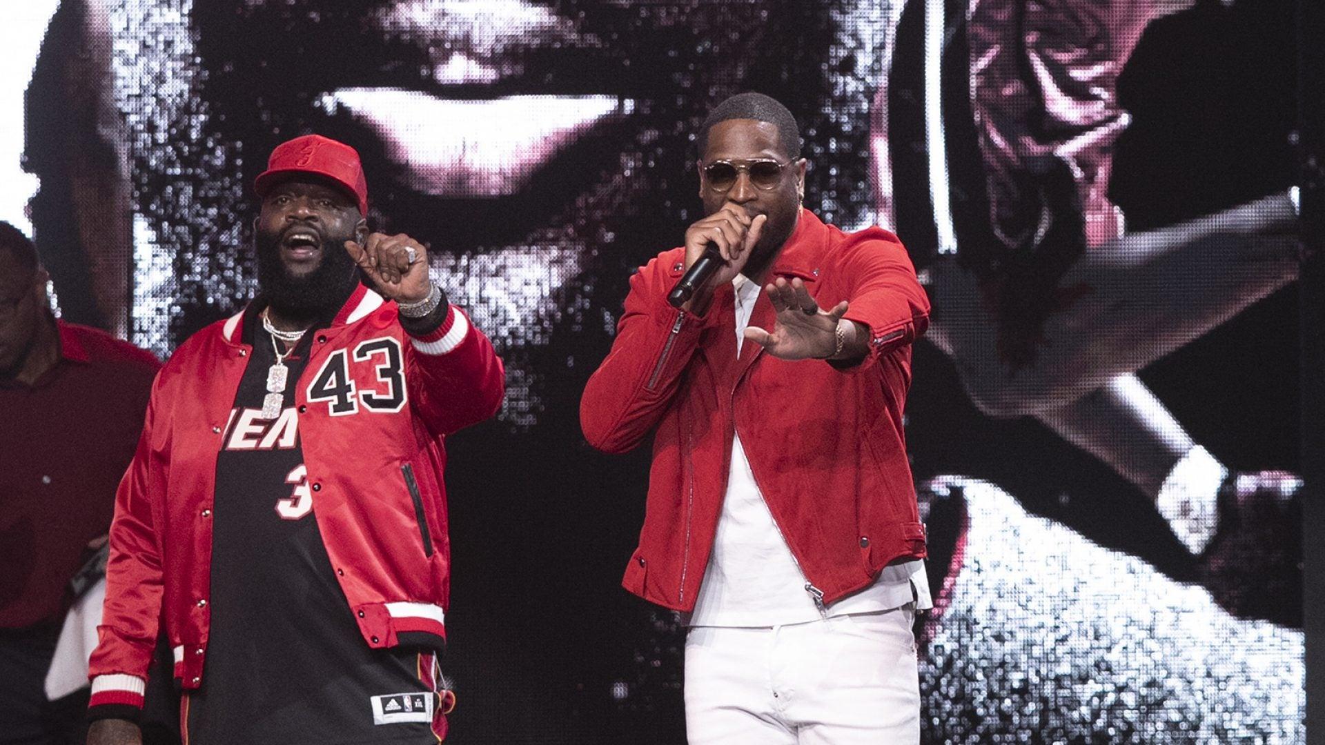 "Dwyane Wade Makes Rap Debut On Rick Ross Single ""Season Ticket Holder"""