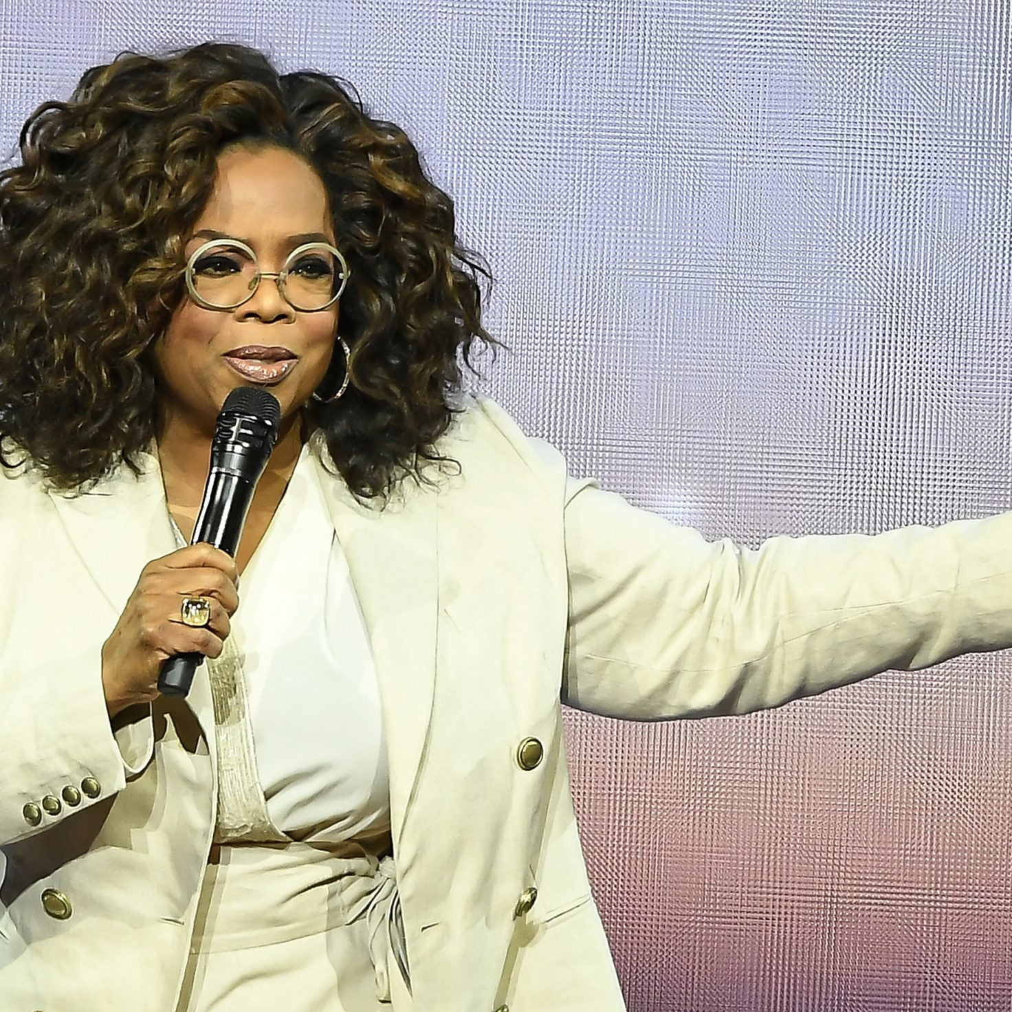 Oprah Winfrey Gets Emotional Talking About $12M Donation To Help Food-Insecure Families