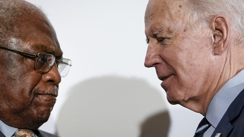 South Carolina Rep. Jim Clyburn Endorses Joe Biden