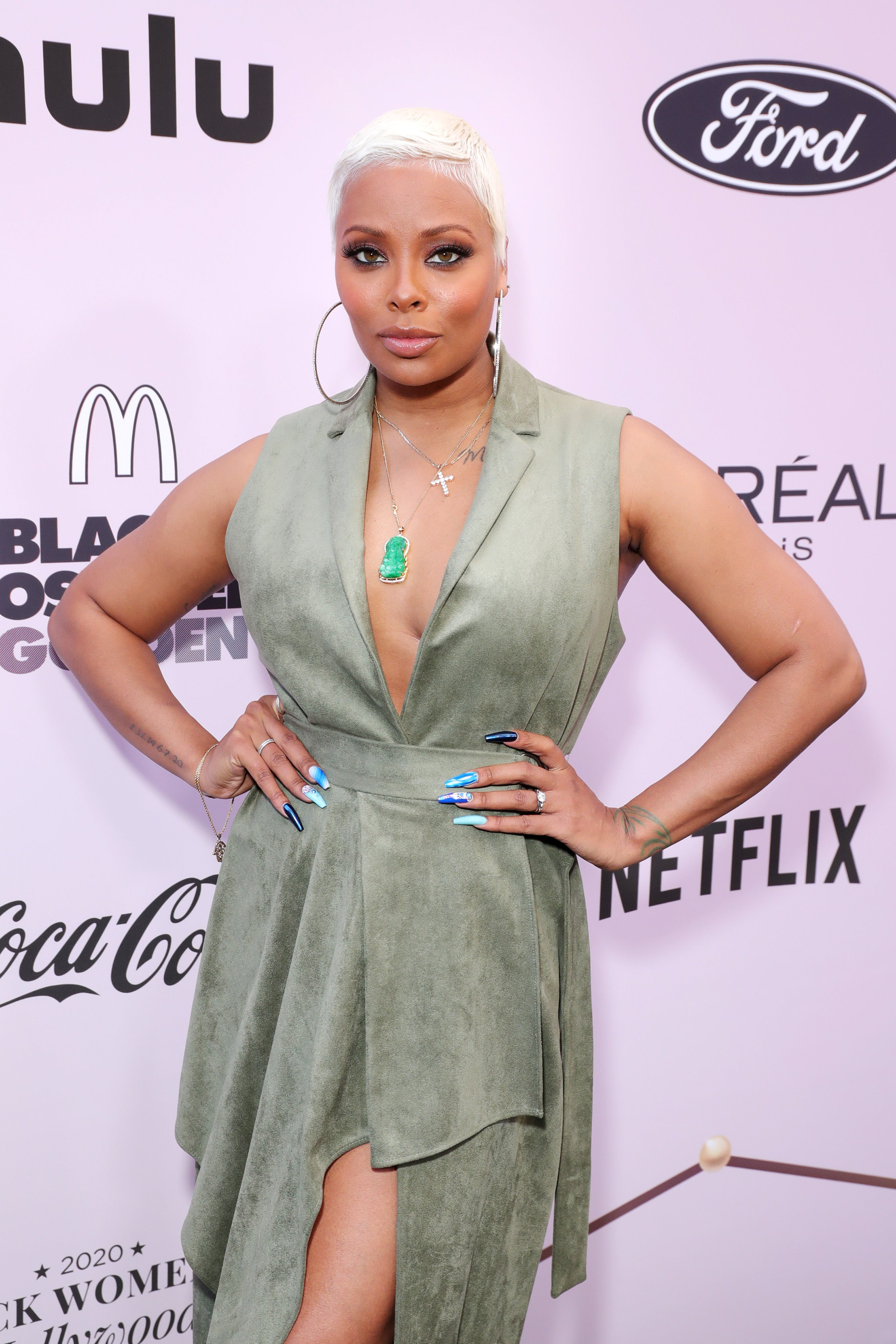 Eva Marcille Simply Took Blond Hair To The Subsequent Degree