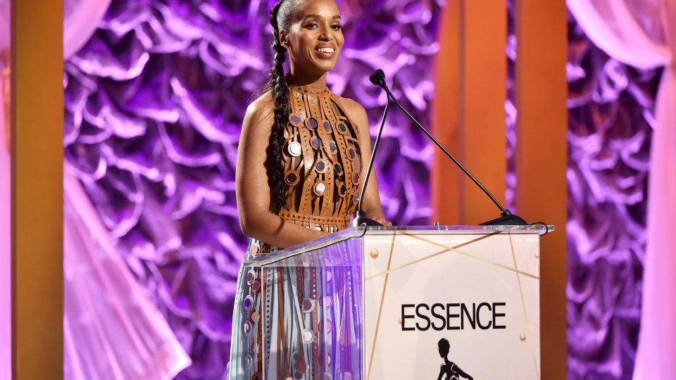 Kerry Washington Tributes Diahann Carroll At Essence's Black Women In Hollywood Awards
