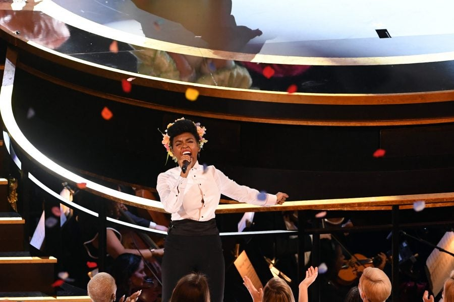 Janelle Monáe Opened The Oscars With A Show-Stopping Homage To The Year's Best Films