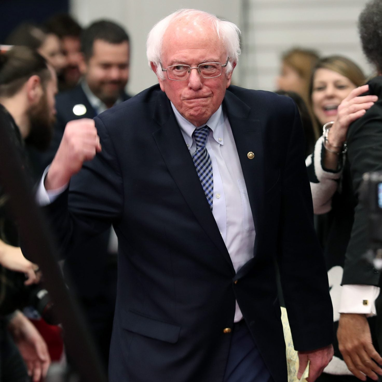 Bernie Sanders Secures Victory In New Hampshire