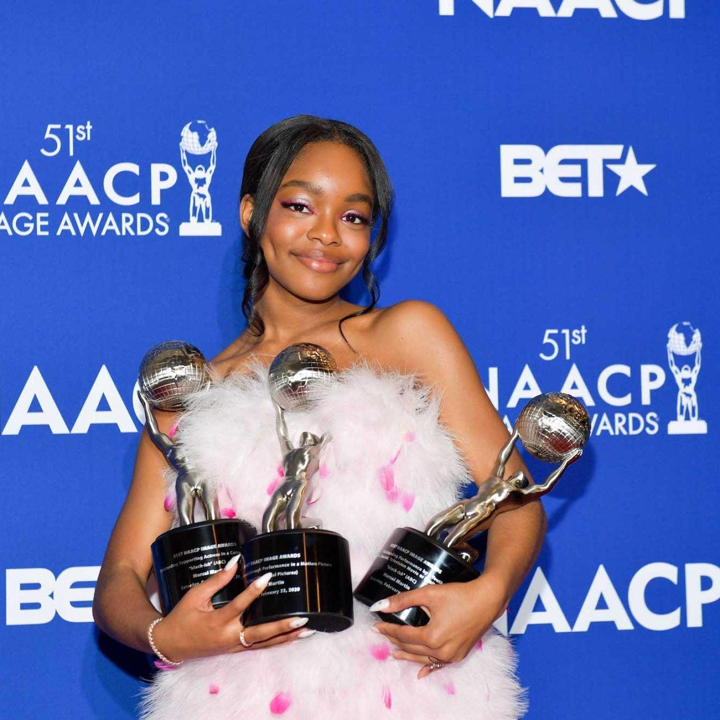 We See You! Marsai Martin Lands Three NAACP Image Awards