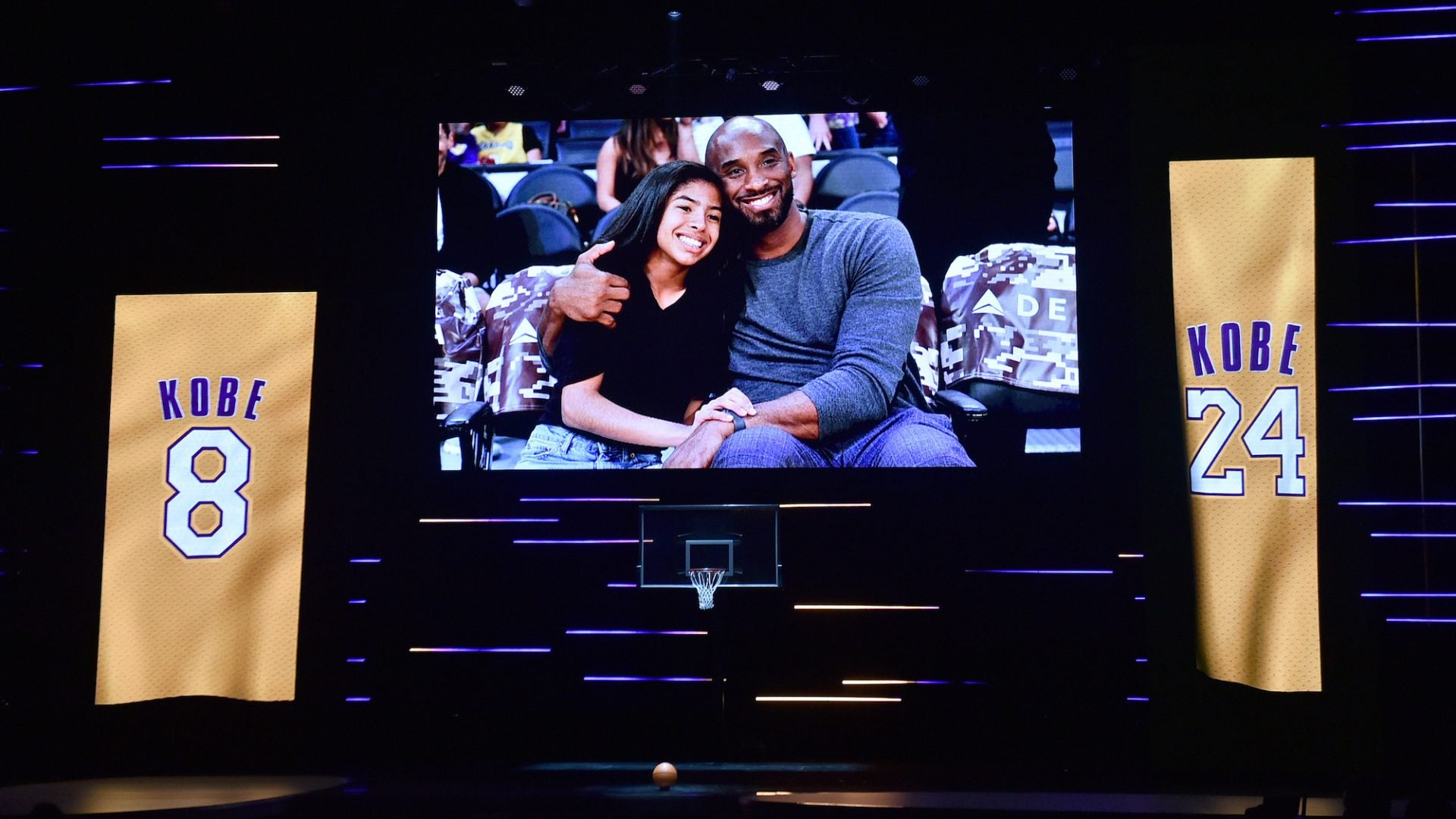 Kobe And Gianna Bryant Honored With Special Tribute At NAACP Image Awards