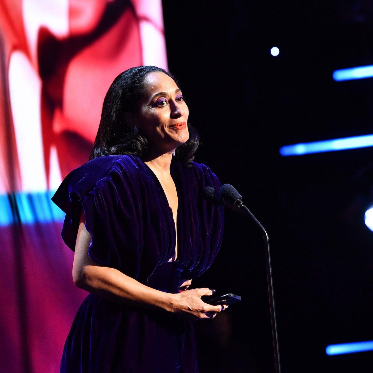 Tracee Ellis Ross Celebrates Powerful Women In NAACP Image Awards Speech