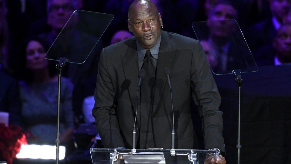 Michael Jordan Remembers Late Kobe Bryant At Public Memorial