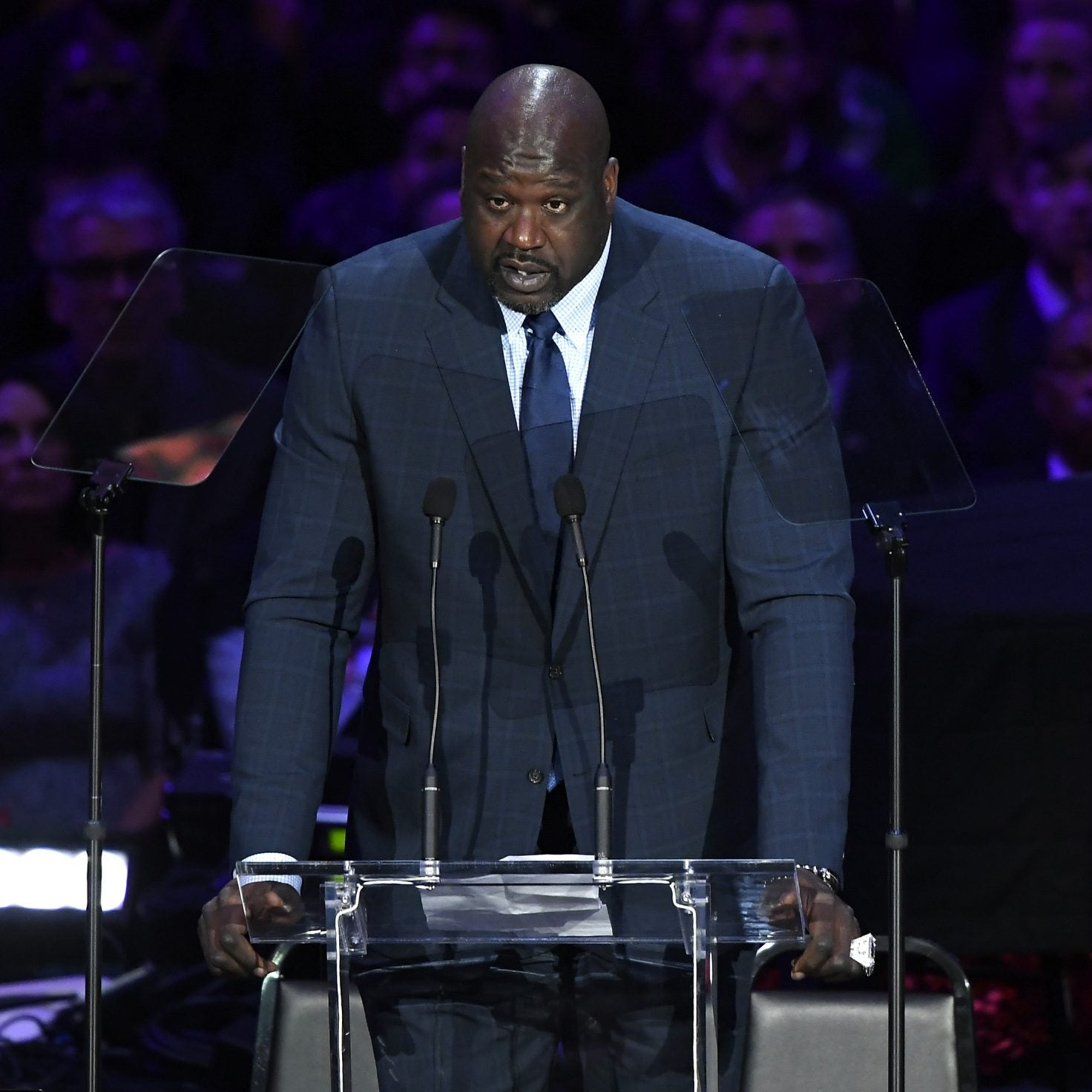 Shaquille O'Neal Remembers Kobe Bryant In Emotional Tribute During Celebration of Life Memorial