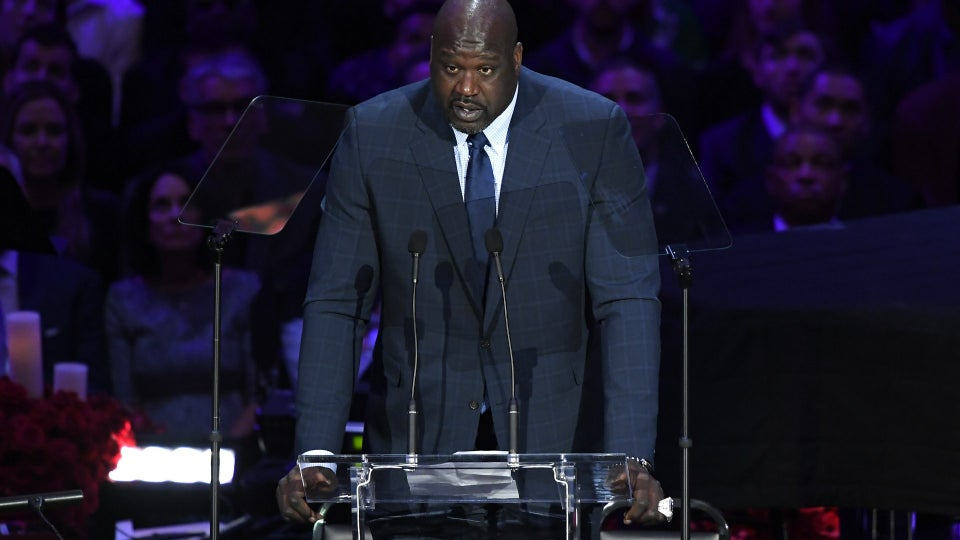 Shaquille O'Neal Remembers Kobe Bryant At Celebration of Life Memorial