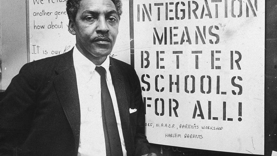 California Governor Posthumously Pardons Civil Rights Icon Bayard Rustin