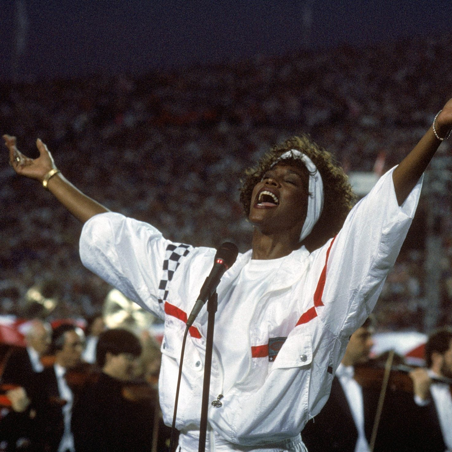 Whitney Houston's 1991 National Anthem At Super Bowl XXV Is Still The Best Of All Time