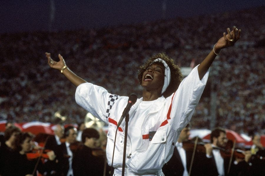 Whitney Houston's 1991 National Anthem At Super Bowl XXV Is The ...