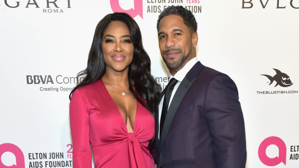 Kenya Moore Says Relationship With Marc Daly Is Improving