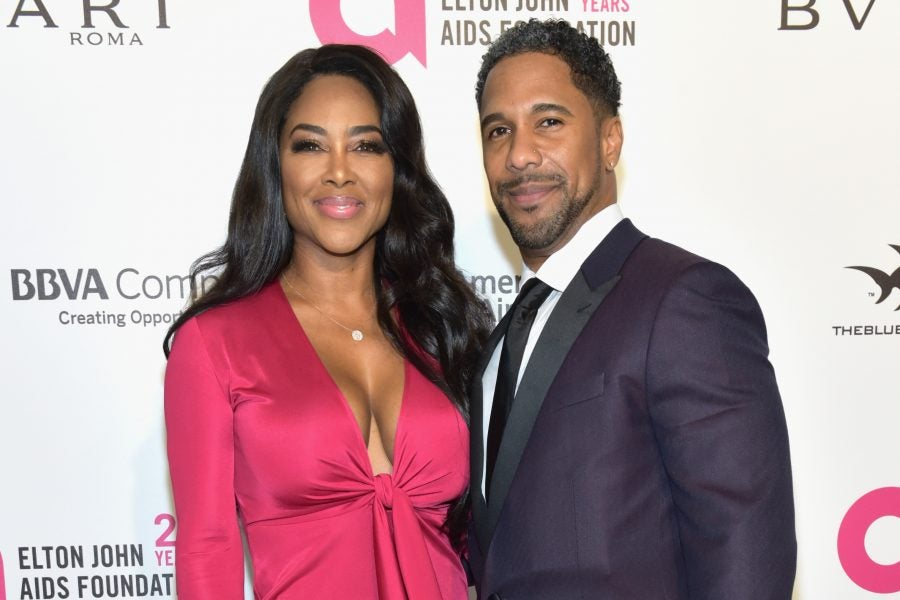 Kenya Moore Says Relationship With Marc Daly Is Improving ...