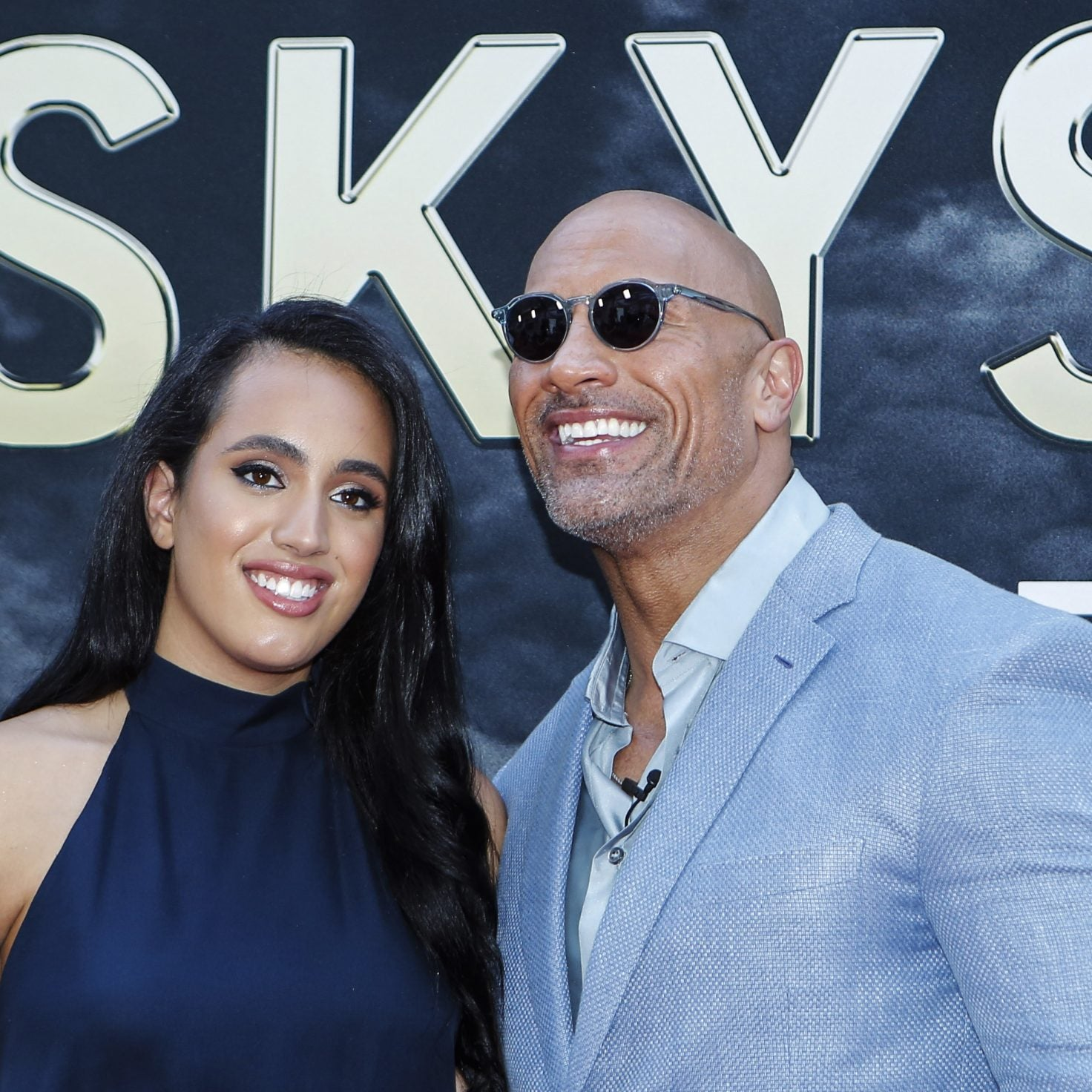 Dwayne 'The Rock' Johnson Says He's 'So Proud' Of Daughter Simone Signing With The WWE