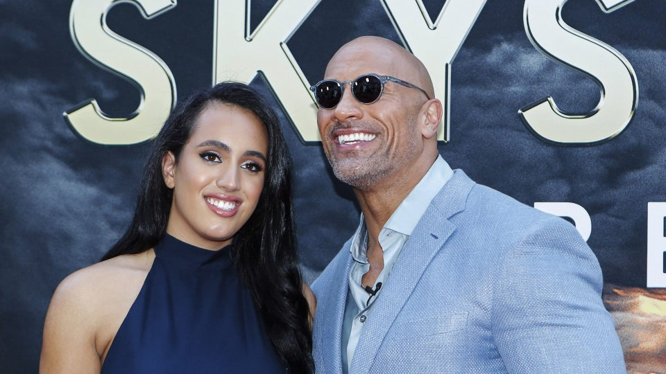Dwayne 'The Rock' Johnson's Oldest Daughter Simone Signs With The WWE