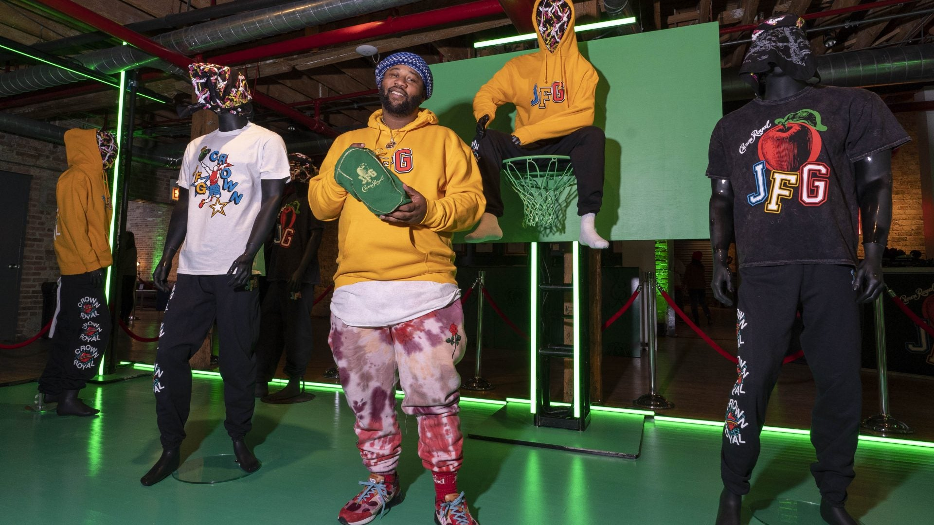 Crown Royal Apple Partners with Joe Freshgoods For All Star Pop Up