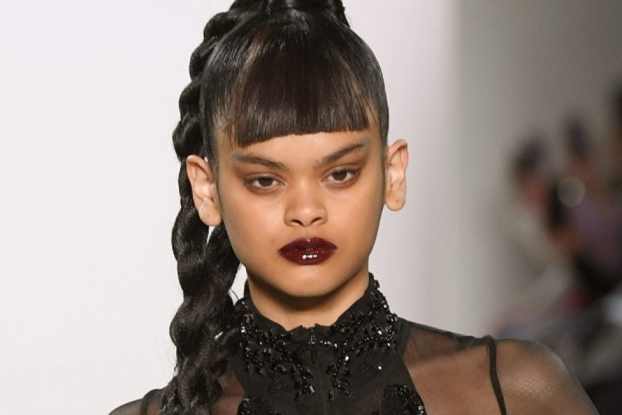 The Hairstyles At LaQuan Smith's Show Invokes Hip Hop And R&B ...